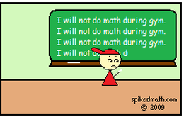 Spiked Math Detention Comic